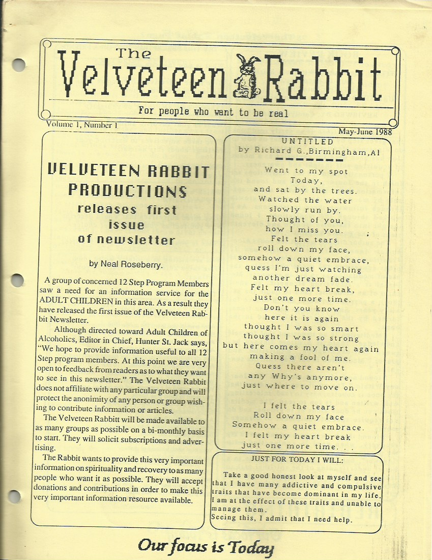 The Velveteen Rabbit for people who want to be Real